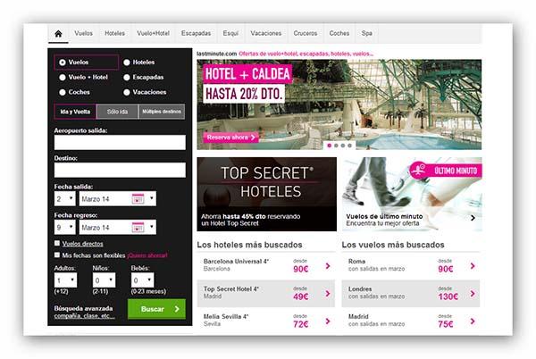 venta de bajo precio recogido nuevo concepto Last Minute – Hoteles y Vuelos de última hora,con ofertas ...