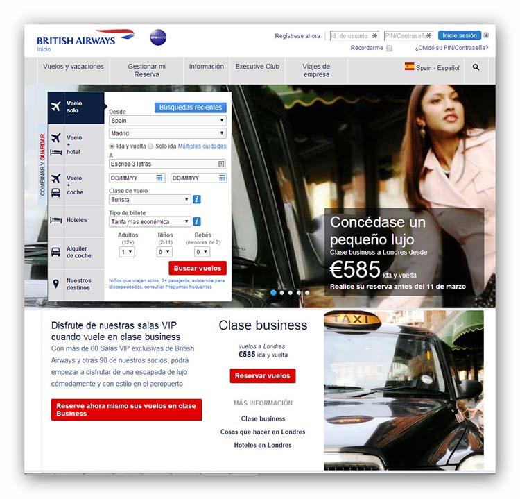 British Airways vuelos baratos y como conseguirlos