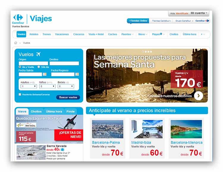 Viajes Carrefour – Hoteles y Vuelos baratos con ofertas ... - photo#11